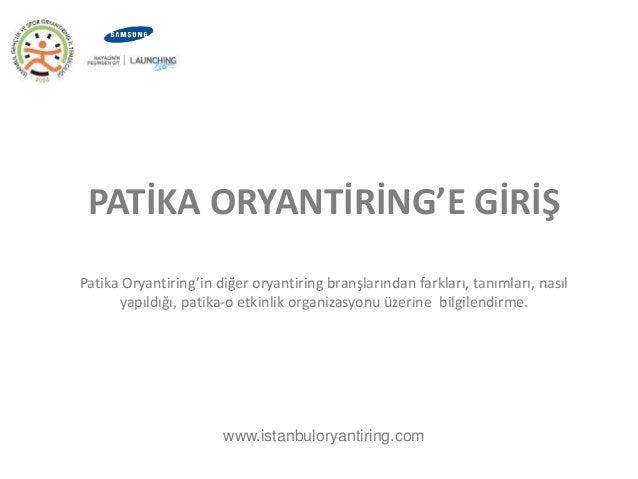 PATİKA ORYANTİRİNG'E GİRİŞ  Patika Oryantiring'in diğer oryantiring branşlarından farkları, tanımları, nasıl  yapıldığı, p...