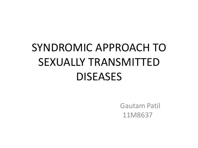 Syndromic approach to sexually transmitted infections trichomoniasis
