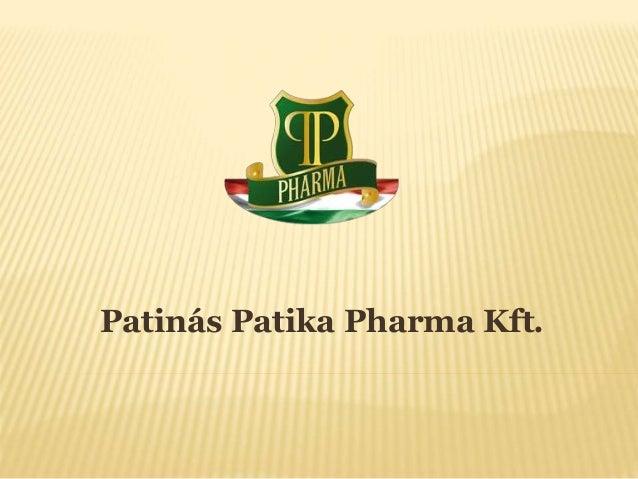 Patinás Patika Pharma Kft.