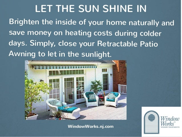 Patio Awnings By Window Works A Functional And Beautiful