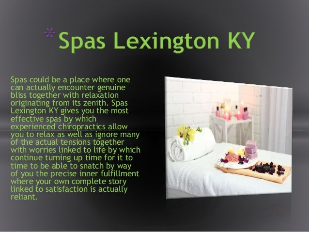 Spas could be a place where one can actually encounter genuine bliss together with relaxation originating from its zenith....