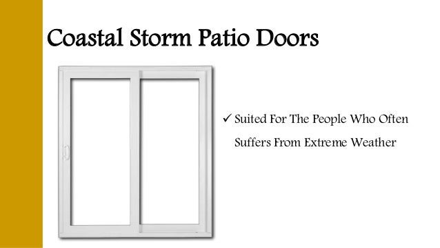 Different Types Of Patio Doors