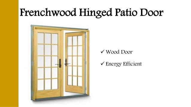 Superb Frenchwood Hinged Patio Door  Wood Door  Energy Efficient ...