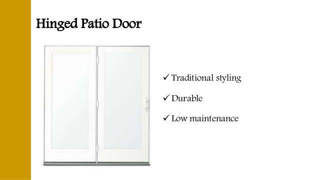 Frenchwood Hinged Patio Door  Wood Door  Energy Efficient; 7.
