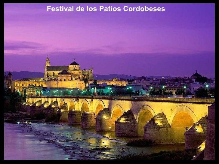 Festival de los Patios Cordobeses