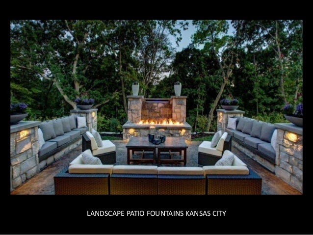 ... Decorative Fountains; 4. LANDSCAPE PATIO ...