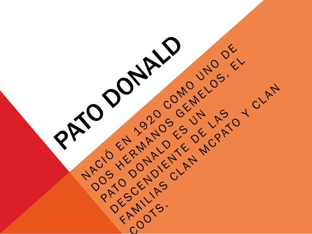 Pato donald. horacio german garcia