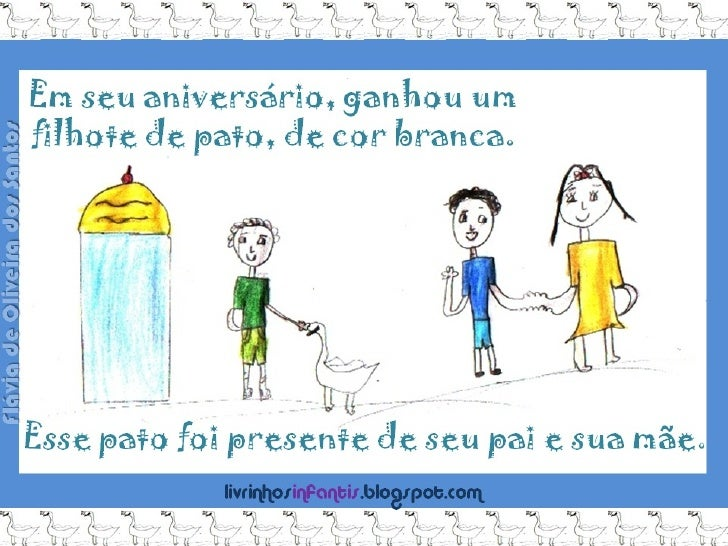 Pato de... aniversário. Flávia 5.A Slide 3