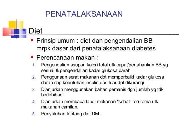 Makanan Yang Harus Dihindari Penderita Diabetes Tipe 2