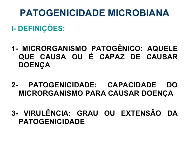 Patogenicidade microbiana microbiologia básica