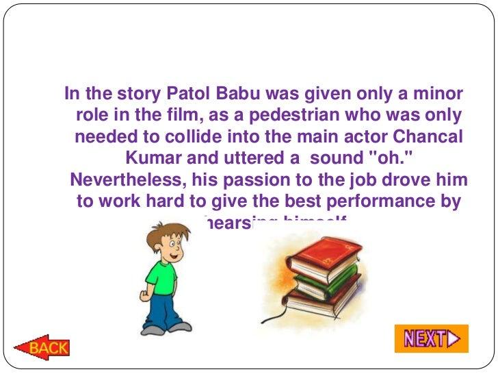 Patol babu summary in easy language to learn