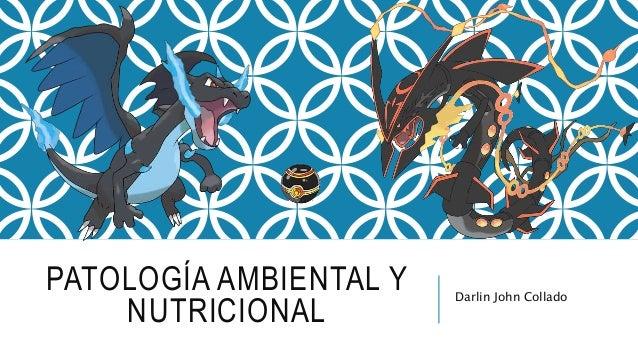 PATOLOGÍA AMBIENTAL Y NUTRICIONAL Darlin John Collado