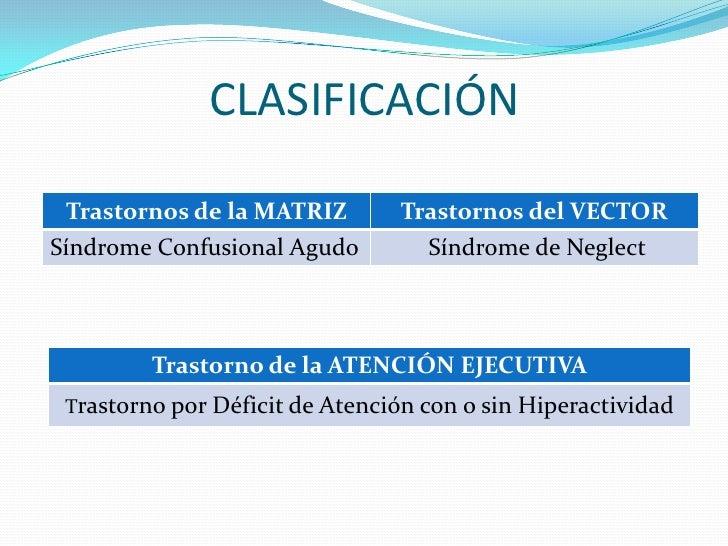 Patologías de la atención  Slide 3