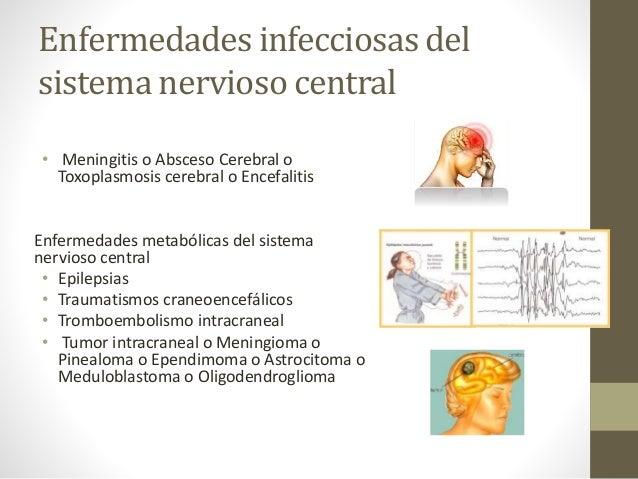 Patologías del sistema nervioso central, periférico.