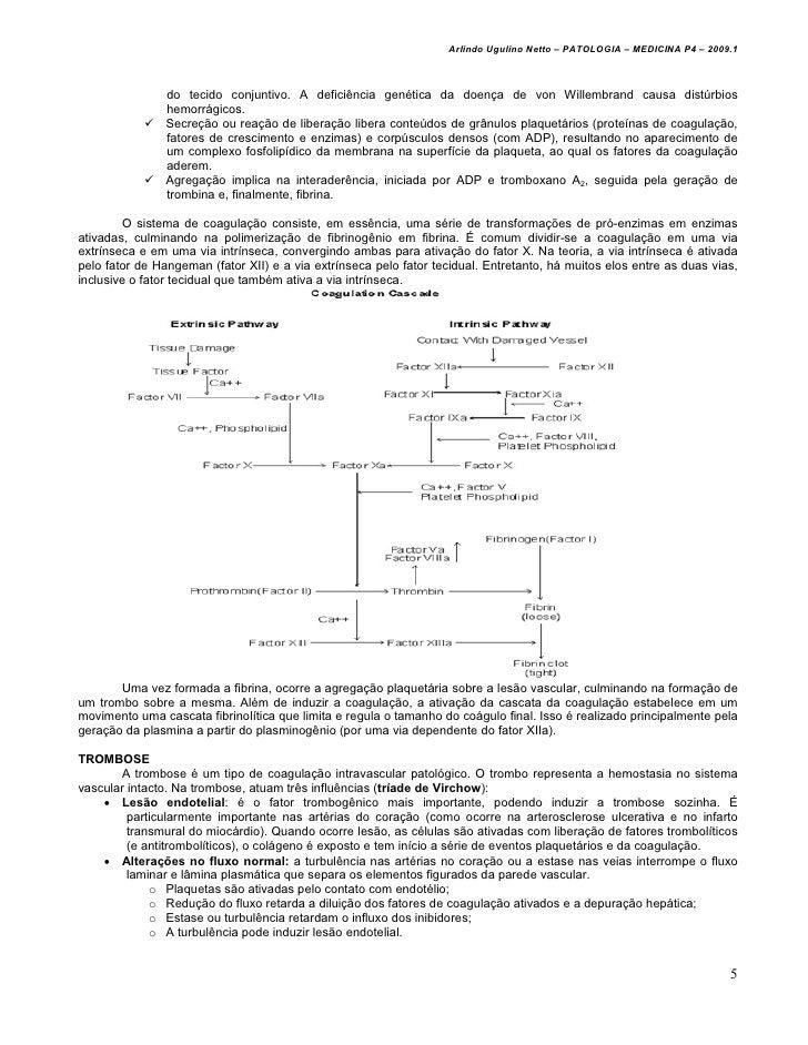 Arlindo Ugulino Netto – PATOLOGIA – MEDICINA P4 – 2009.1                do tecido conjuntivo. A deficiência genética da do...