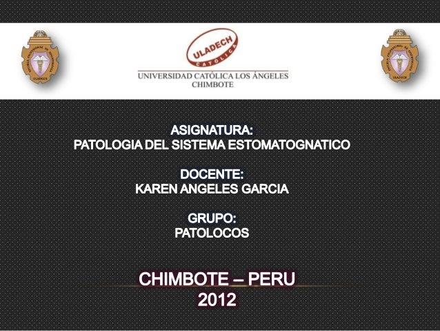    Introduccion                           Pag.3 Objetivos                                Pag.4   Tumores Benignos      ...