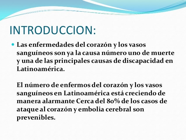 PRINCIPALES PATOLOGÍAS DE LOS VASOS SANGUINEOS Slide 2