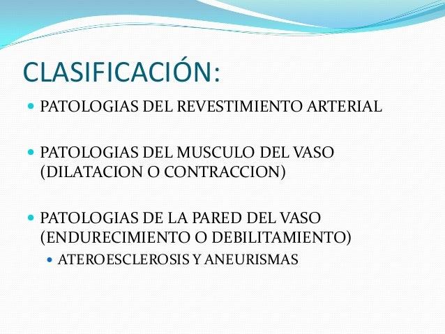 PRINCIPALES PATOLOGÍAS DE LOS VASOS SANGUINEOS Slide 3