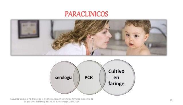 PARACLINICOS F. Álvarez Garcia, V. Rodriguez de la Rúa Fernández. Programa de formación continuada en pediatria extrahospi...