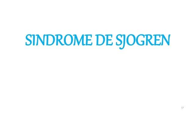 SINDROME DE SJOGREN 17