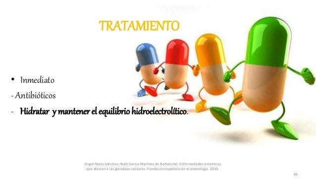 TRATAMIENTO • Inmediato - Antibióticos - Hidratar y mantenerel equilibrio hidroelectrolítico. Angel Nieto Sánchez. Ruth Ga...