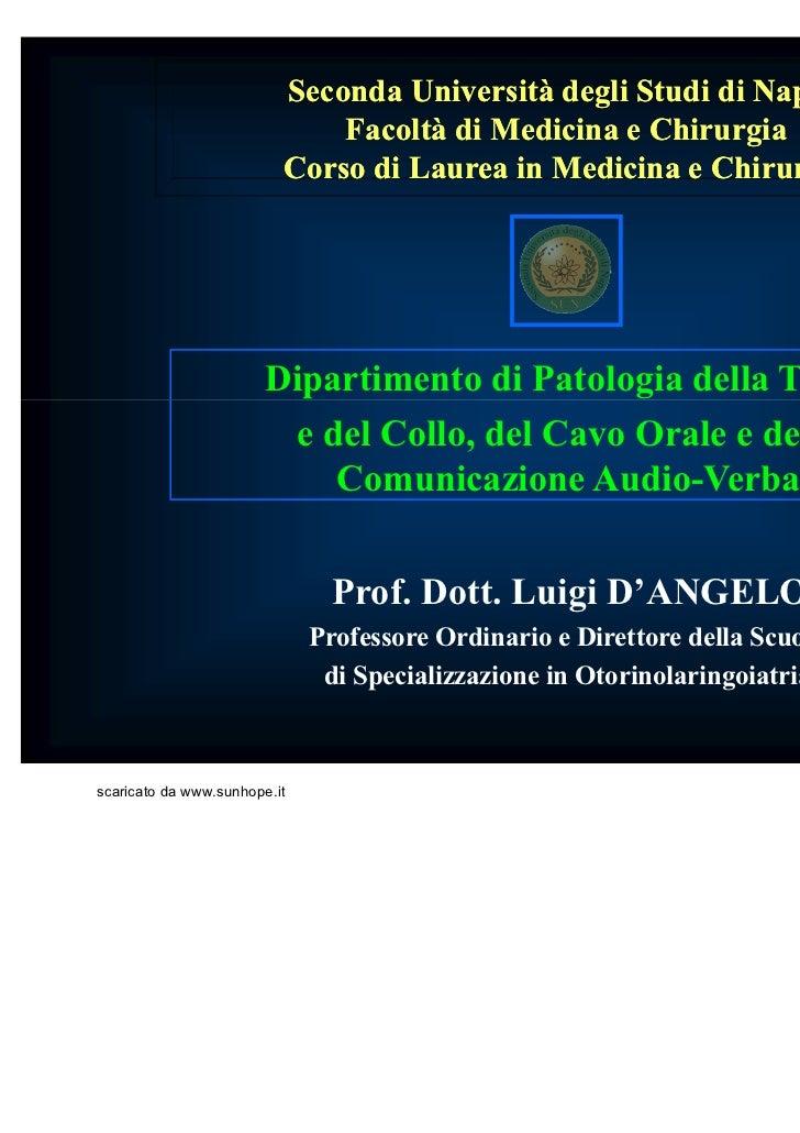 Patologie otorinolaringoiatriche pp
