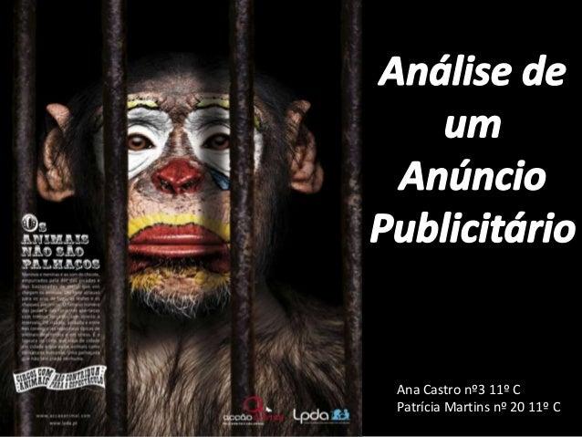 Ana Castro nº3 11º CPatrícia Martins nº 20 11º C