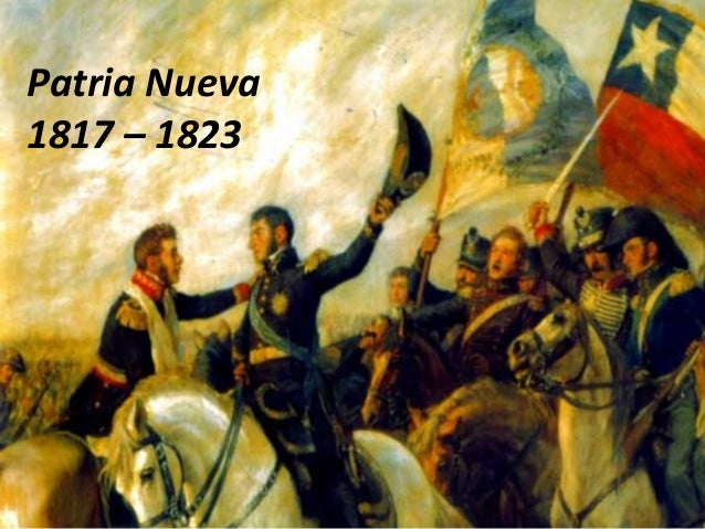 Patria Nueva1817 – 1823
