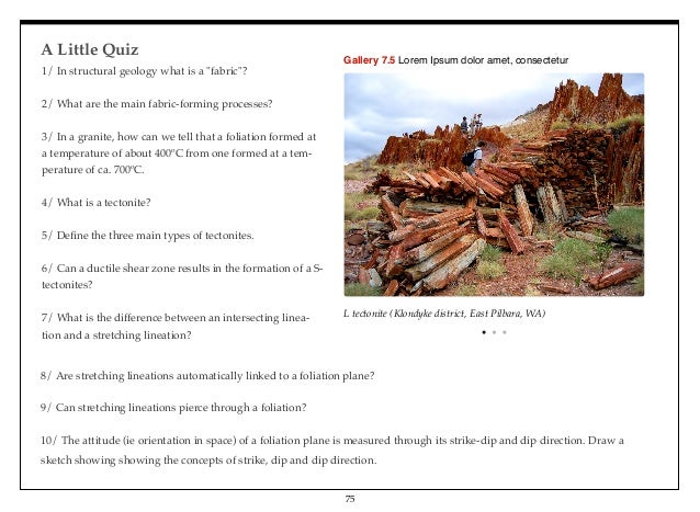 intro to structural geology exam i Introduction to physical geology geol100 section: 0101  you may appeal your grade on any exam prior to the posting of final  basics of structural geology .