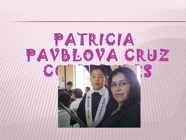 PATRICIAPAVBLOVA CRUZ CORREDORES