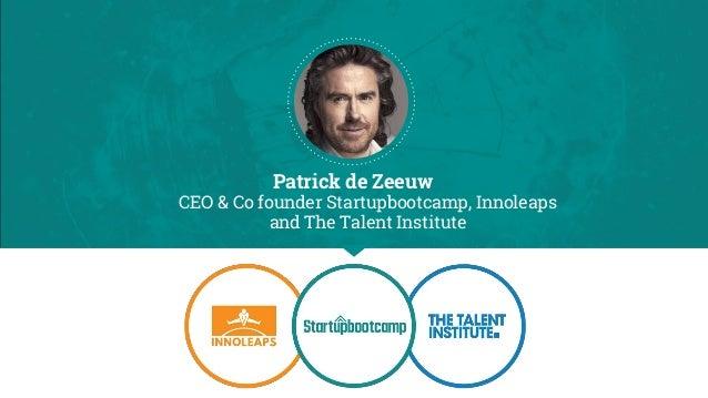 Startupbootcamp - Patrick de Zeeuw Slide 2
