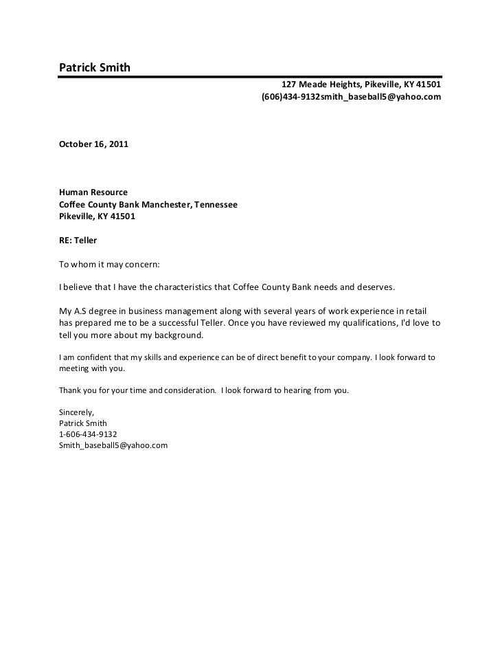 Sample cover letter how to write a cover letter addressed for How should a cover letter be addressed