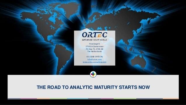 Big Data Expo 2015 - Ortec Advances Analytics & Optimization
