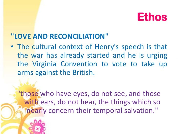 ethos inside conversation to be able to the particular va convention