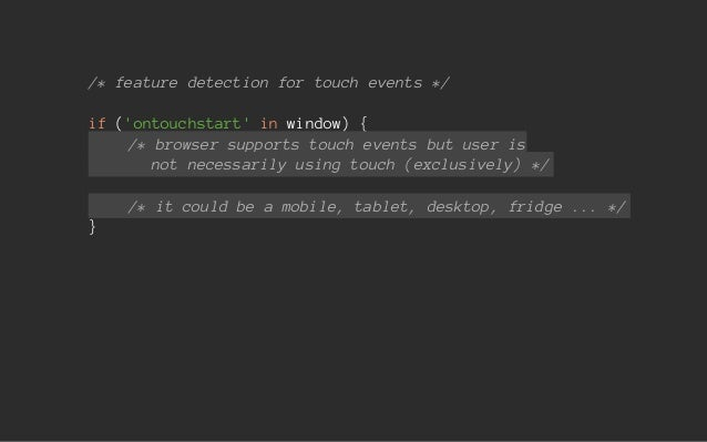 Getting touchy - an introduction to touch and pointer events (1 day w…