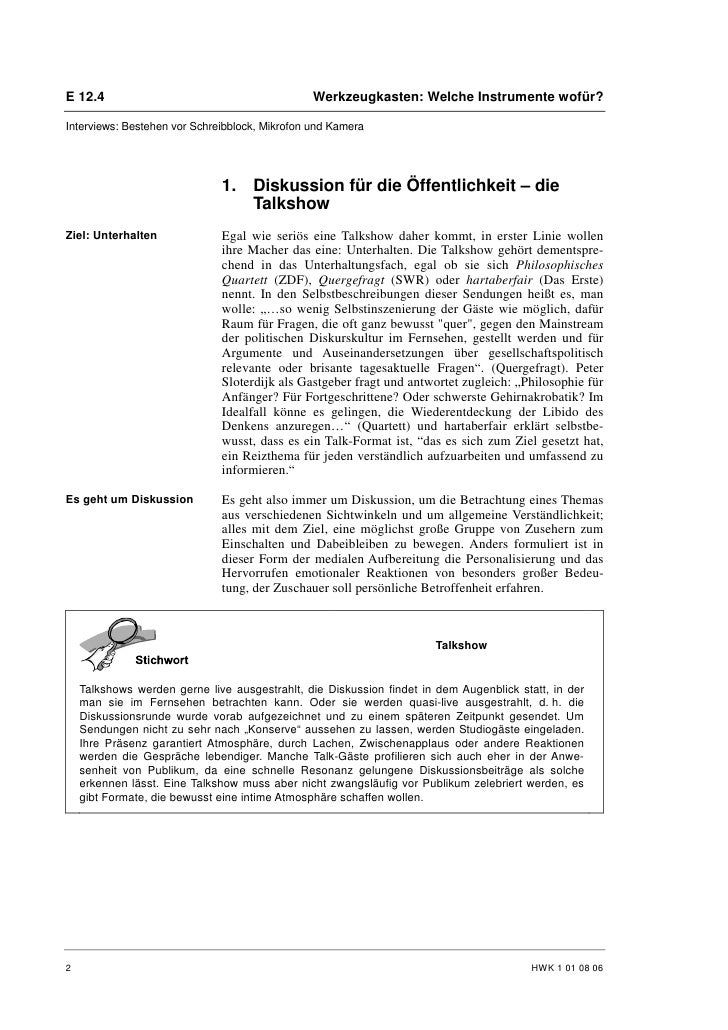Patrick Honecker: Experte in der Gesprächsrunde Slide 2