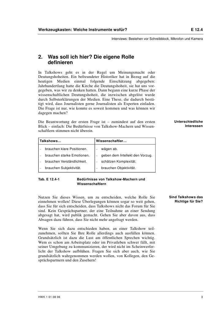 Patrick Honecker: Experte in der Gesprächsrunde Slide 3