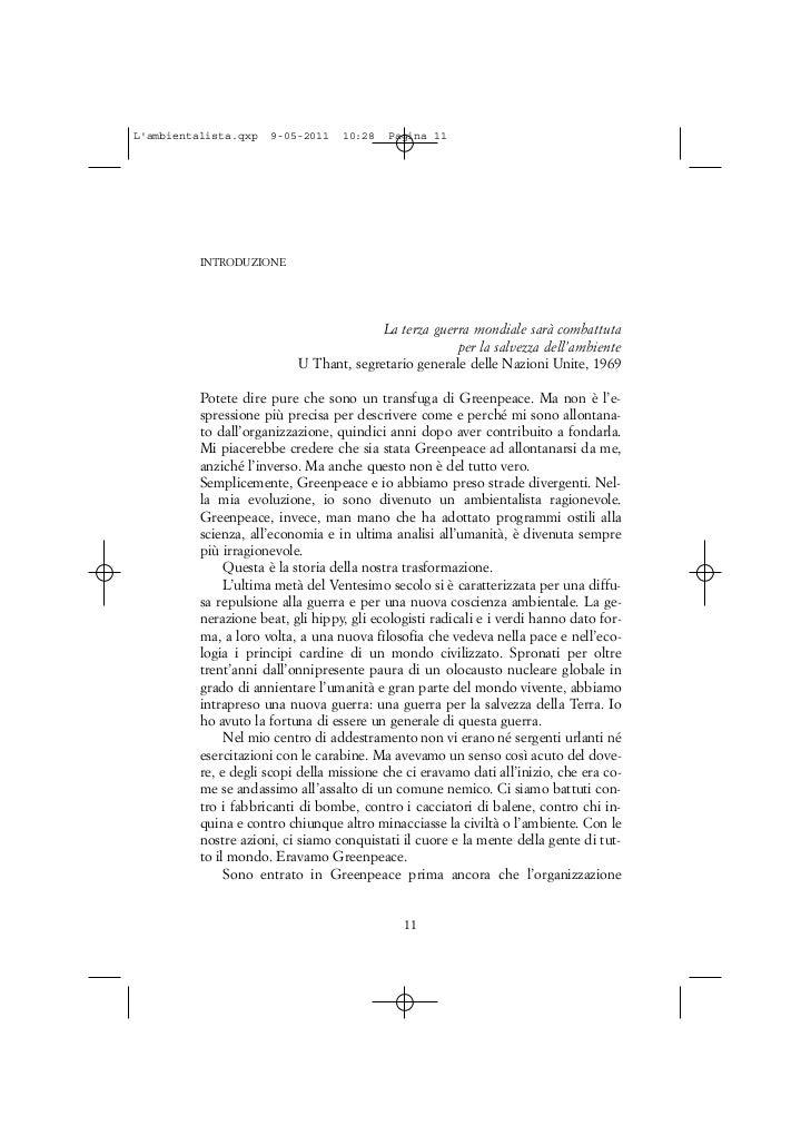 Lambientalista.qxp   9-05-2011    10:28   Pagina 11          INTRODUZIONE                                         La terza...