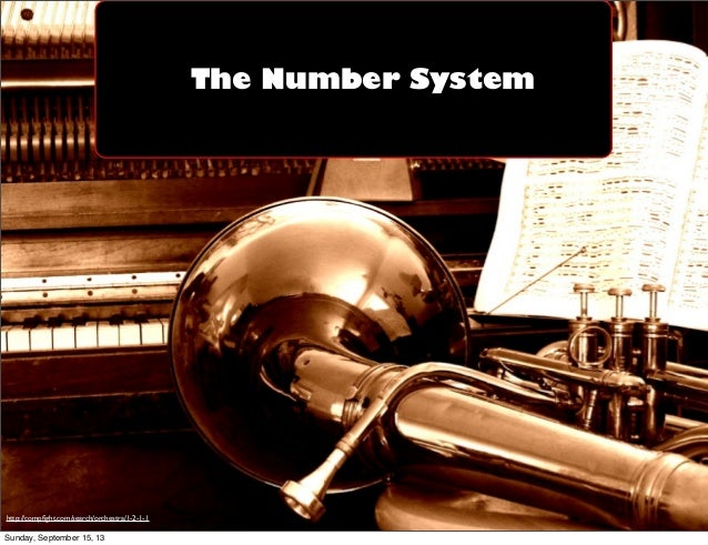 The Number System http://compfight.com/search/orchestra/1-2-1-1 Sunday, September 15, 13