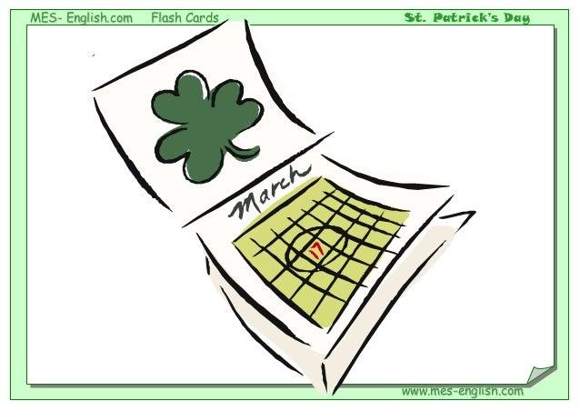 MMEESS-- EEnngglliisshh..ccoomm FFllaasshh CCaarrddss St. Patrick's Day wwwwww..mmeess--eenngglliisshh..ccoomm