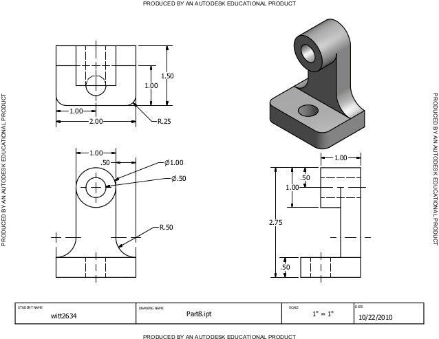 Autodesk inventor homework charactor trait essay example