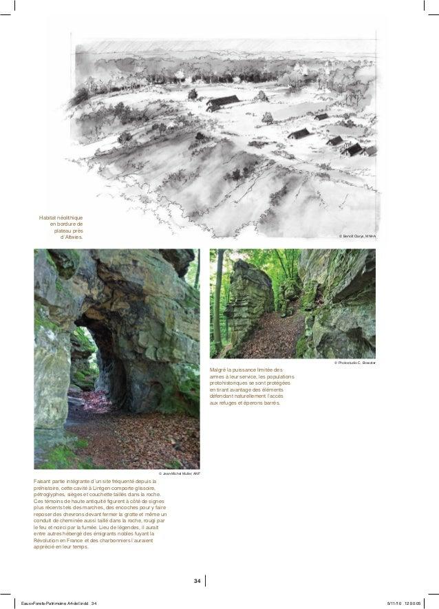 34 Faisant partie intégrante d'un site fréquenté depuis la préhistoire, cette cavité à Lintgen comporte glissoire, pétrogl...