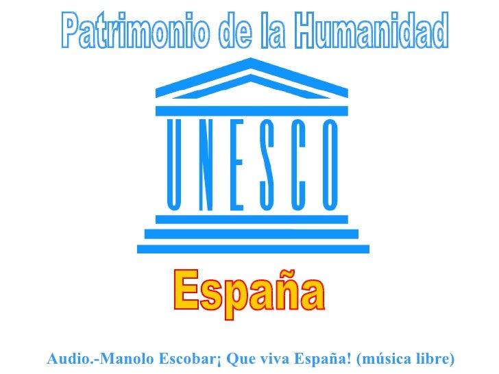 Audio.-Manolo Escobar¡ Que viva España! (música libre)
