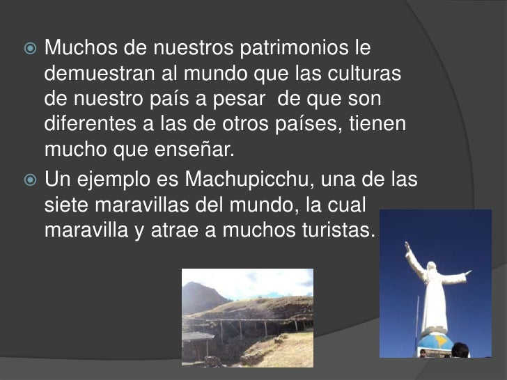 Los patrimonios        Lambayequehistóricos mostradosanteriormente, segúnel mapa del Perú losencontramos en….             ...