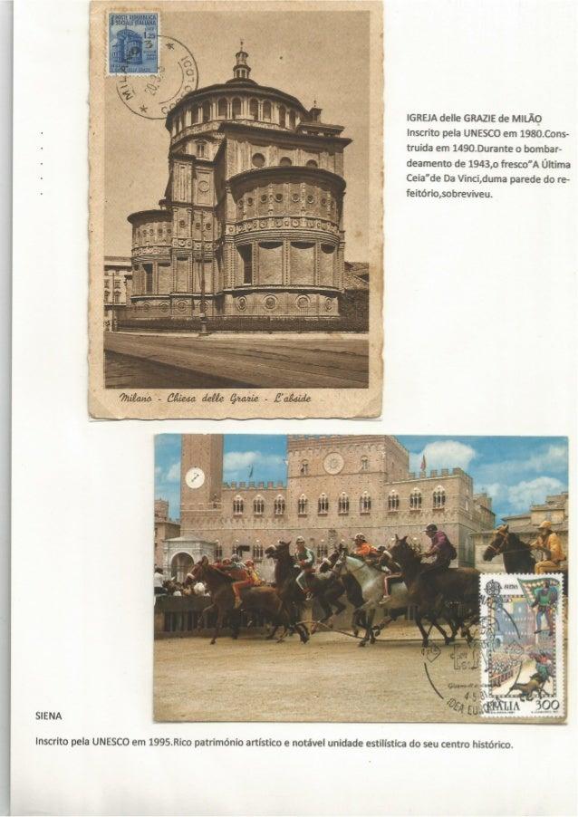 POSTEREPIJBBIJCA ,  . Êsocim ITALIANA  IGREJA delle GRAZIE de MILÃQ Inscrito pela UNESCO em 1980.Cons- truida em 1490.Dura...