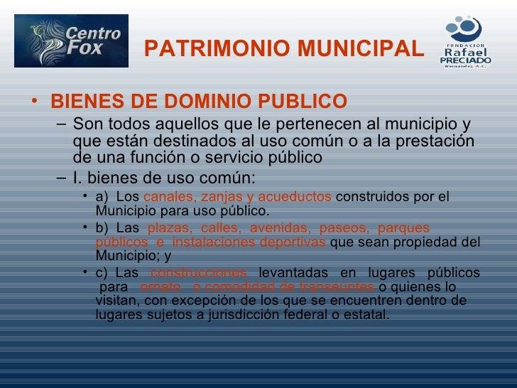 Patrimonio Municipal