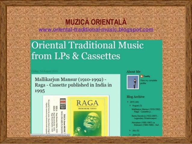 MUZICĂ ORIENTALĂ www.oriental-traditional-music.blogspot.com