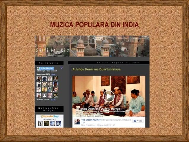 MUZICĂ POPULARĂ DIN INDIA