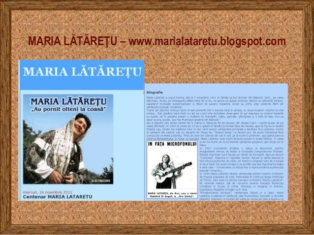 MARIA LĂTĂREŢU – www.marialataretu.blogspot.com