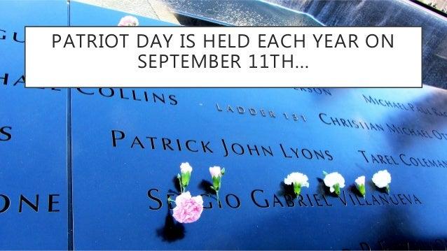 Patriot day Slide 2